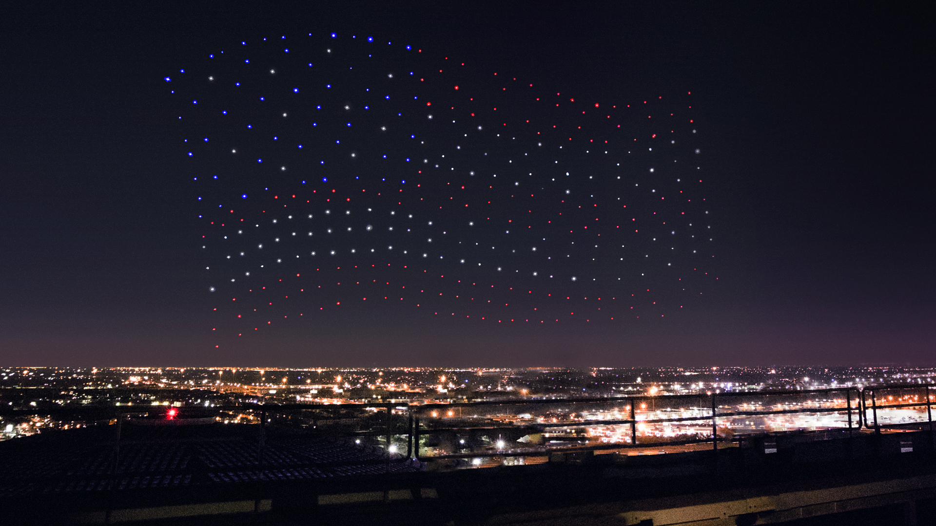 Intel powered the drones during Lady Gagas Super Bowl halftime show