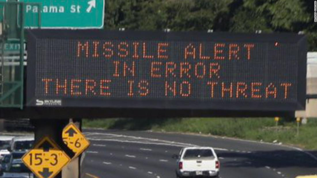 Hawaii false missile alert 'button pusher' is fired