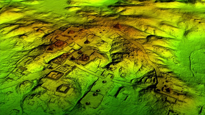 A massive ancient city was discovered hidden under dense jungle in Guatemala