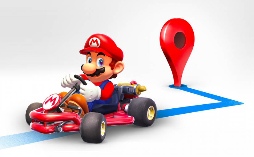 Mario is here to be your new Google Maps buddy