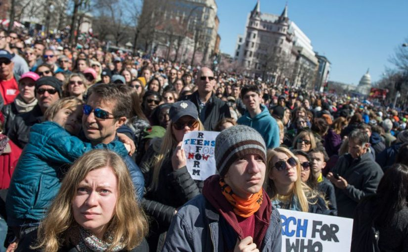 March For Our Lives drew 800,000 protesters — more than a certain someone's inauguration