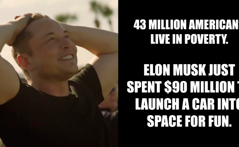 Someone Tries To Attack Elon Musk For Spending $90M To Launch Car Into Space, Gets Brilliantly Shut Down