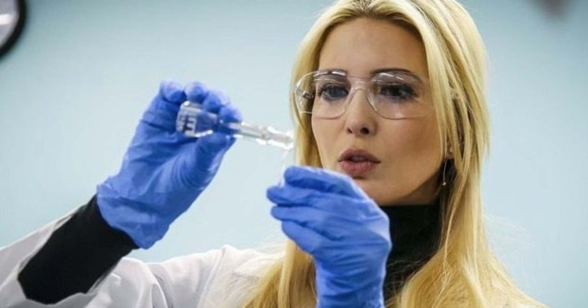 Ivanka Trump Called Out For Cosplaying As A Scientist In Latest Weird Photo Op