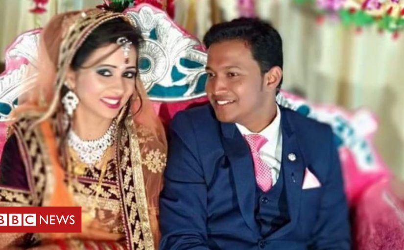 Who sent the bomb that killed this newlywed man?